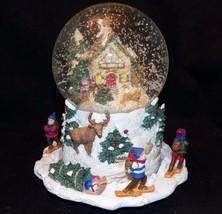 Pfaltzgraff Nordic Christmas Sleigh Ride Musica... - $64.99