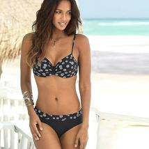 Women Boho Push Up Bra Bikini Set Summer Swimsuit Swimwear image 9