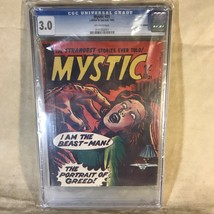 Mystic #21 UK Edition 1962 Reprint of Marvel/Atlas Comic CGC Graded 3.0 - $49.49