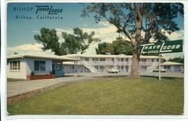 Travelodge Travel Lodge Bishop California US Highway 395 CA 6 postcard - $6.39