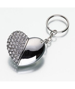 Heart USB Flash Drive Keychain (1 GB) - $37.21