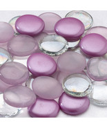 Purple Glass Signing Stones For Guest Book Alte... - $12.95