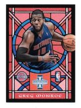 2012-13 Greg Monroe Panini Innovation Stained Glass - Detroit Pistons - $1.19