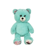 BUILD A BEAR GIRL SCOUTS TEAL THIN MINT COOKIE TEDDY STUFFED ANIMAL PLUS... - $45.82