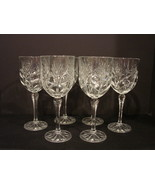 Set of 6 Fifth Avenue Crystal ~Portico~ Crystal Water Goblets 8 Inches Tall - $75.00