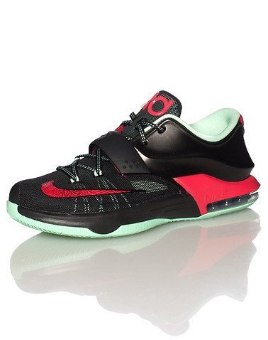 buy popular 9b518 ef6e4 415svobm3hl. sl1500. 415svobm3hl. sl1500. Previous. Nike KD VII GS (Good  Apples) Black Medium Mint-Action Red (