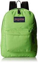JanSport Superbreak Student Backpack - Zap Green - $34.99