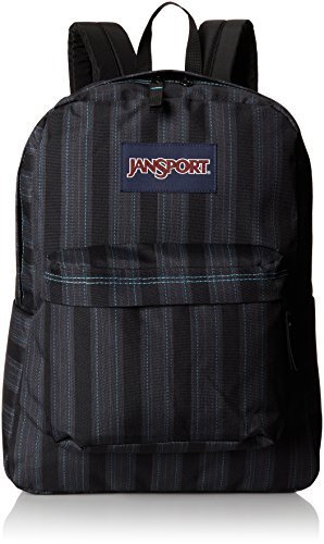 JanSport Superbreak Student Backpack - Mammoth Blue Pinstripe