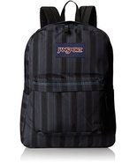 JanSport Superbreak Student Backpack - Mammoth Blue Pinstripe - £25.43 GBP