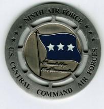 Ninth Air Force 3 Star Commander Challenge Coin 9AF USCENTAF Central Command - $32.00