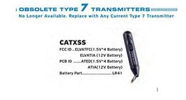 Code Alarm CATXSS ELCATFC Transmitter Factory Authorized Replacement Remote S... - $39.55