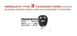 Replacement Remote for Discontinued Audiovox Prestige PROOE3B470 ELVAT1F Fact... - $29.69