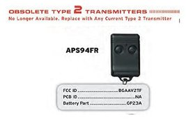 Replacement Remote for Discontinued Audiovox Prestige APS94FR ELVATOI Factory... - $28.70