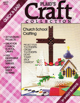 PLAID'S CRAFT COLLECTION CHURCH SCHOOL CLOTHESPIN CRAFTING NOAHS ARK - $5.95