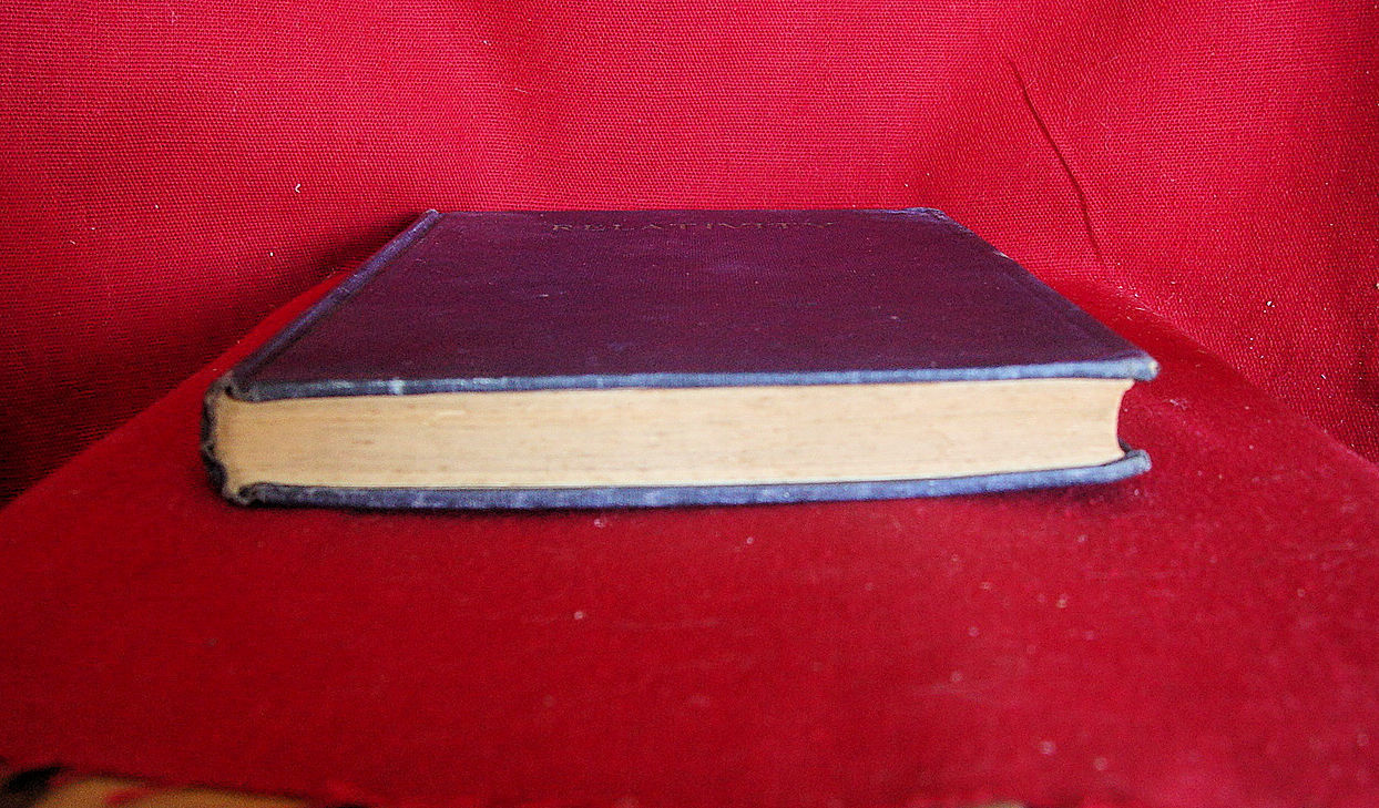 Albert Einstein RELATIVITY THE SPECIAL AND GENERAL THEORIES -1920 1st US ed