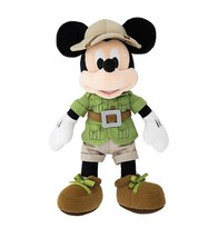 Disney Parks 9 inc Mickey Mouse Safari Plush New with Tags - $28.45