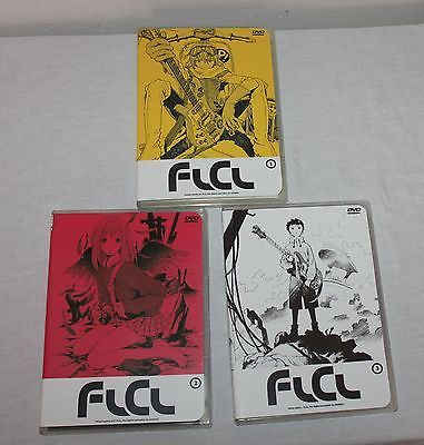 FLCL Complete Collection Limited Edition DVD Series Box-Set Anime Volumes 1 - 3 image 5