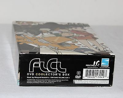FLCL Complete Collection Limited Edition DVD Series Box-Set Anime Volumes 1 - 3 image 11