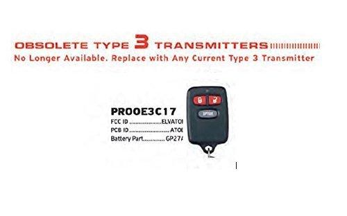w// Program Info Audiovox Prestige BGAAV2T F 2 Button Remote Transmitter