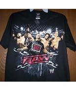 WWE RAW Shirt John Cena Batista Rey Mysterio Wrestling T-Shirt Boy's 10/... - $18.99