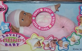 Lissi Lovely Sounds Baby Doll Makes 12 Sounds Says Momma Papa Pink Outfit NEW - $29.99