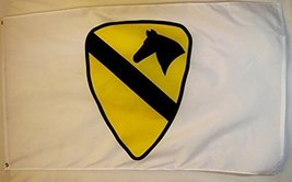 United States Army 1st Cavalry Flag 3' X 5' Indoor Outdoor Military Banner - $12.95