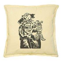Vietsbay's Zombie Couple Printed Khaki Decorative Throw Pillows Case VPL... - $14.39