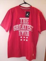 "Nike Jordan ""The Greatest Ever"" Basketball T Shirt Size XL FREE SHIP 584618-695 - $29.97"