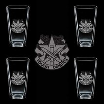 Us Army 90th Sustainment Brigade Dui 4 Glass Set - $34.64