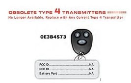 Replacement Remote for Discontinued Audiovox Prestige OE3B4S73 Factory Author... - $28.70