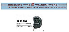 Audiovox APS92BT BGAAPS2T Transmitter Factory Authorized Replacement Remote A... - $29.69
