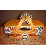 Longaberger 1996 Holiday Cheer Basket Combo Set - $48.99