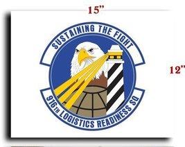 Air Force USAF 916th Logistics Readiness Squadron CANVAS art print frame... - $20.78
