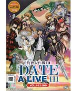 Anime DVD Date A Live Season 3 Vol.1-12 End English Dubbed Free Shipping - $12.50