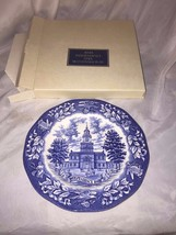 Vintage Avon 1976 Independence Hall Bicentennial Plate Made in England  ... - $12.11