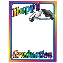 "Beistle Happy Graduation Partygraph, 23"" x 18"" - $5.45"