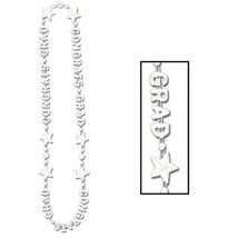 "Beistle Congrats Grad Beads-Of-Expression 36"" - White - $4.64"