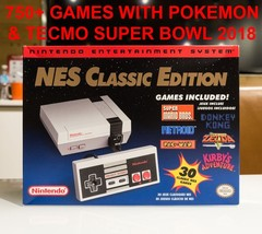 Nintendo NES Classic Edition Mini Console With 750+ Games - $220.00