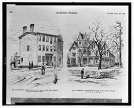 Mr. Vanderbilt's birthplace at New Brunswick, New Jersey / drawn by Charles J... - $12.99