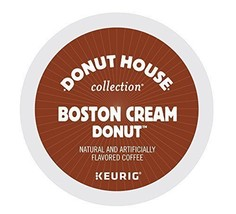 Donut House Collection Boston Cream Donut, Keurig K-Cups, Count 12, 3.9 ... - $51.40