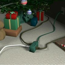 Lot of 2 Westinghouse 3 Packs 6 ft. Indoor Holiday Decor Outlet Extension Cords image 4