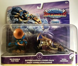 Skylanders SuperChargers Combo Pack Big Bubble Pop Fizz Soda Skimmer New - $8.70