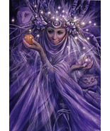 FREE W $100 7X CRONE'S BLESSING WHITE LIGHT ENERGIES Magick ALBINA Cassia4  - $0.00
