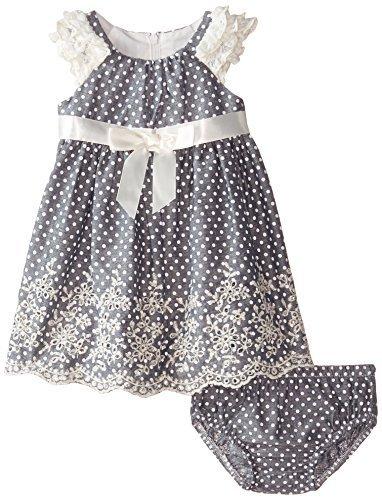 6b685f253 Bonnie Baby Baby-Girls Newborn Chambray Dot and 40 similar items.  51gonlwq06l. sl1500