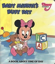 Baby Minnie's Busy Day a Book About Time of Day Disney Babies Board Book by d... - $7.91