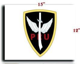 "US Army Pocket Patch Vietnam Pru CANVAS art print framed stretched 15""x12"" - $20.78"
