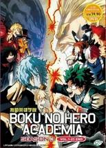 Boku No Hero Academia Season 3 DVD 1 - 25 end with English Dubbed Ship From USA