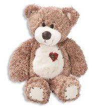 First & Main Stuffed Tender Tan Teddy Bear, 12-inch, Snuggly and huggable - $8.00