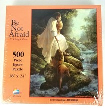 Be Not Afraid 500 Piece Puzzle Sealed Greg Olsen Easter Inspirational - $22.24