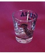 Arizona Roadrunner 2 oz Shot Glass Barware - $2.99